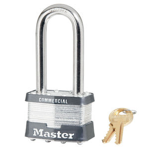 25KALJ - 2in (51mm) Wide Laminated Steel Rekeyable Pin Tumbler Padlock with 2-1/2in (64mm) Shackle, Keyed Alike