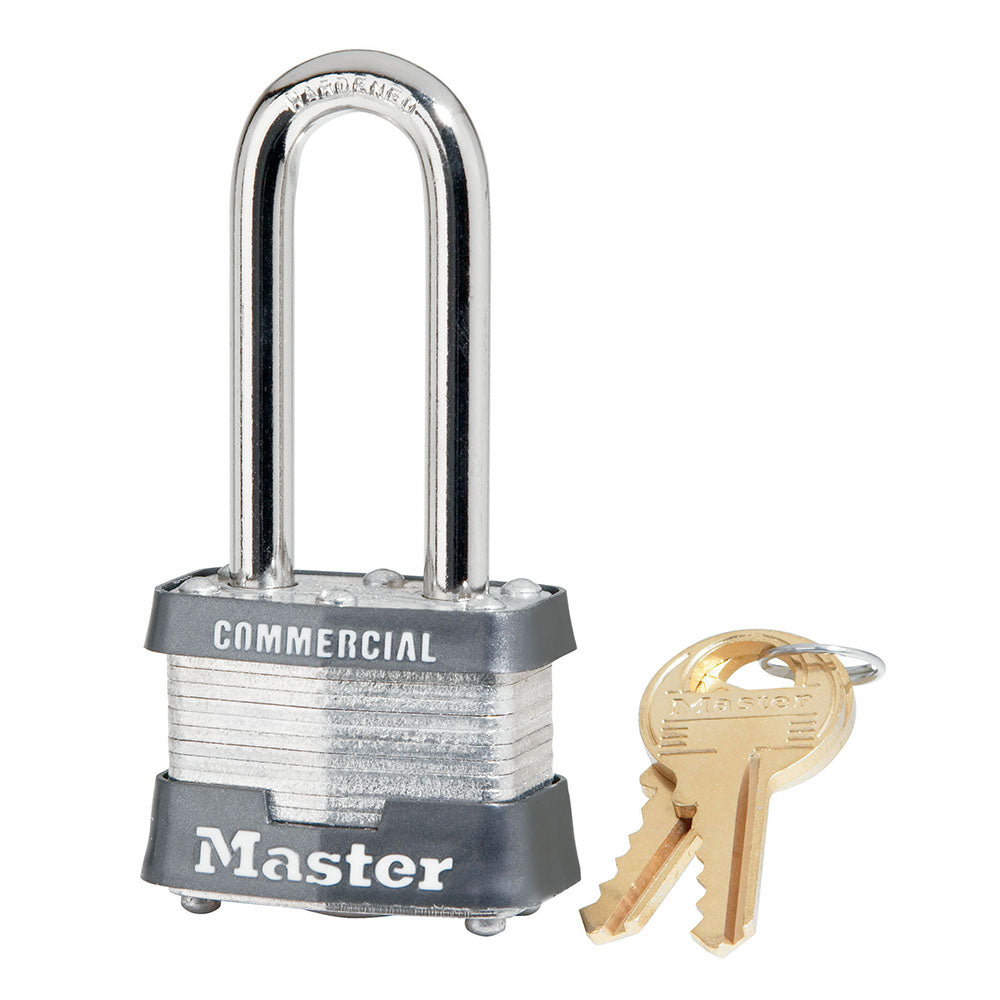 31KALH - 1-9/16in (40mm) Wide Laminated Steel Pin Tumbler Padlock with 2in (51mm) Shackle, Keyed Alike-Keyed-MasterPadlocks.com (LIVE)