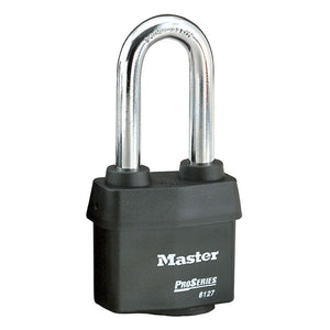 6127LJ - 2-5/8in (67mm) Wide ProSeries® Weather Tough® Laminated Steel Rekeyable Pin Tumbler Padlock with 2-1/2in (64mm) Shackle-Keyed-MasterPadlocks.com (LIVE)