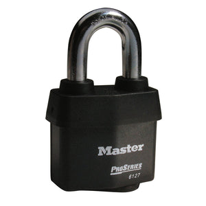 6127KA - 2-5/8in (67mm) Wide ProSeries® Weather Tough® Laminated Steel Rekeyable Pin Tumbler Padlock, Keyed Alike-Keyed-MasterPadlocks.com (LIVE)