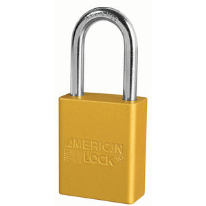 A1166KABLU - Blue Anodized Aluminum Safety Padlock, 1-1/2in (38mm) Wide with 1-1/2in (38mm) Tall Shackle, 6-pin Cylinder, Keyed Alike-Keyed-MasterPadlocks.com (LIVE)