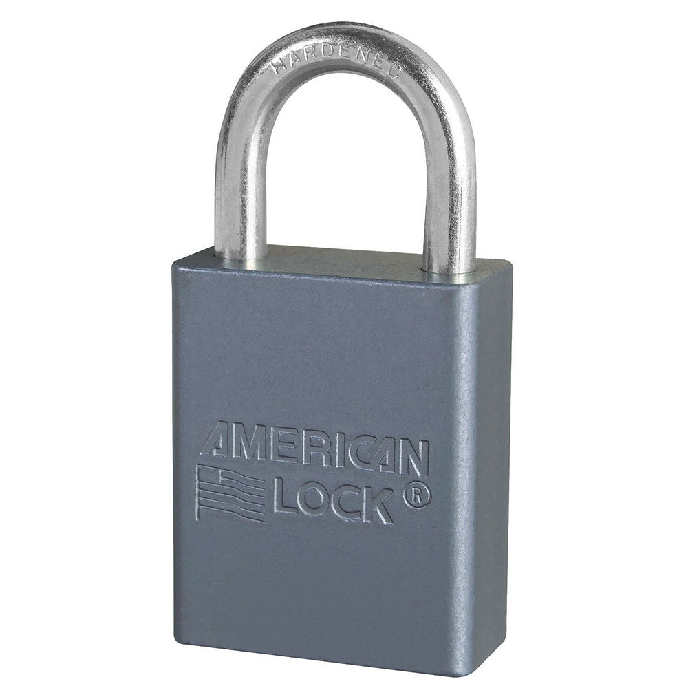 A30KA - 1-3/4in (44mm) Solid Aluminum Pin Tumbler Padlock, Keyed Alike-Keyed-MasterPadlocks.com (LIVE)