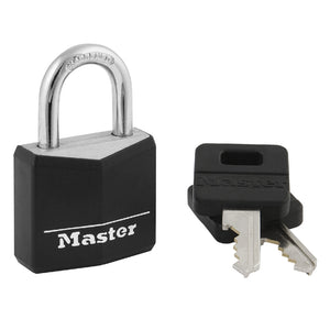131D - 1-3/16in (30mm) Wide Covered Solid Body Padlock