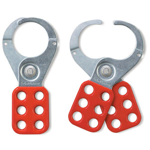 421 - Steel Lockout Hasp, 1-1/2in (38mm) Jaw Clearance-Other Security Device-MasterPadlocks.com (LIVE)