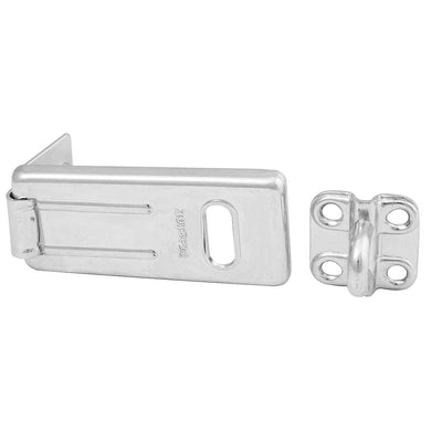 702D - 2-1/2in (64mm) Long Zinc Plated Hardened Steel Hasp with Hardened Steel Locking Eye-Other Security Device-MasterPadlocks.com (LIVE)
