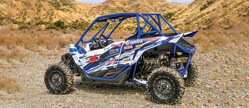 Teixeria Tech upgraded Yamaha YXZ 1000R with Demon Heavy Duty Axles
