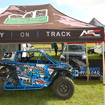 Schwartz Off Road Motorsportz debuted a new Polaris RZR Turbo SXS in Crandon, WI