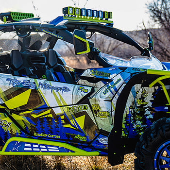 Thrill Billy's new custom build Can Am Maverick X3!