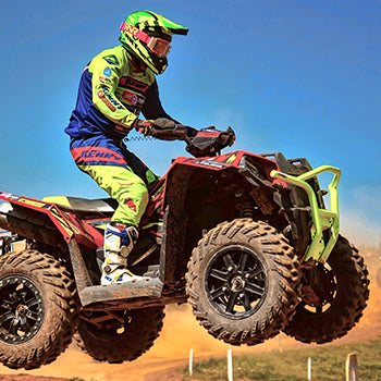ATVS only is supporting Multi British Quad Champions Jason Wildman in 2019 Race Season
