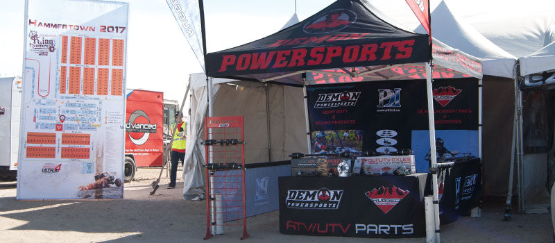 Demon's Booth at the 2017 King of the Hammers Race