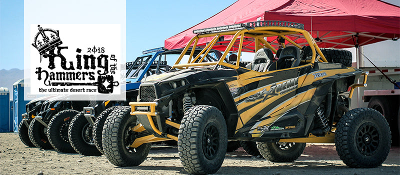 Demon Powersports attends the King of the Hammers Race in California