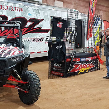 Demon Powersports sets up at Rally on the Rocks featuring ZBROZ Racing