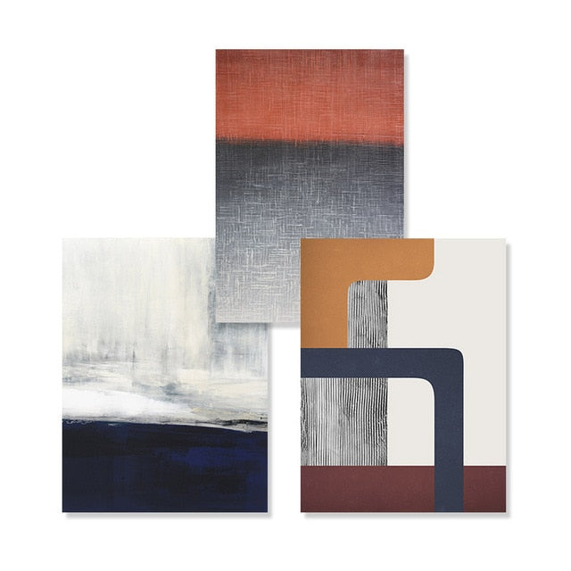 Modern Rustic Abstract