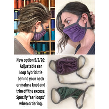 Load image into Gallery viewer, PAIR - Chitosante Tech Quick-Dry Comfort Stretch Face Masks