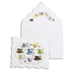 Teacups Boxed Notecards