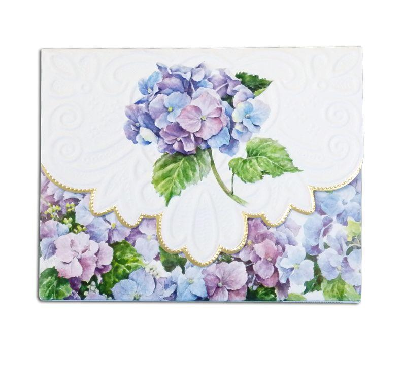 Hydrangeas Boxed Notecards