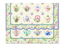 Load image into Gallery viewer, Teapot Quilt Boxed Notecards