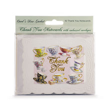 Load image into Gallery viewer, Teacups & Saucers Thank You Card Set