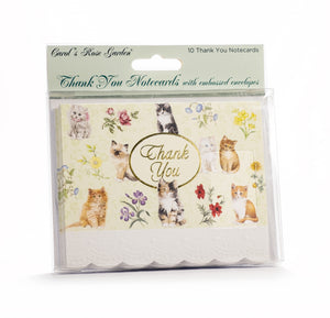 Cute Cats Thank You Card Set