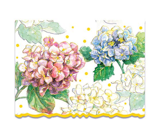 Classic Hydrangeas Boxed Notecards