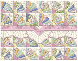 Fan Quilt Boxed Notecards