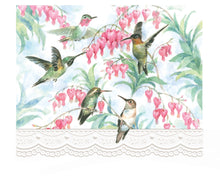Load image into Gallery viewer, Hummingbirds Boxed Notecards