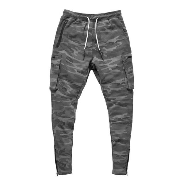 Fitted Cargo Sweatpants