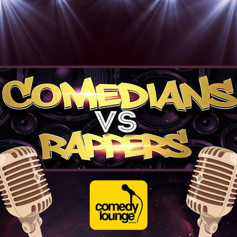 perth city comedians vs rappers fringe festival award winning show perth comedy lounge