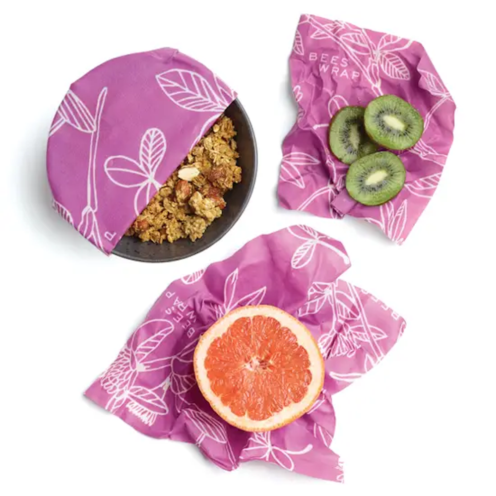 Bee's Wrap: Clover Print - Pack of 3 Assorted Sizes