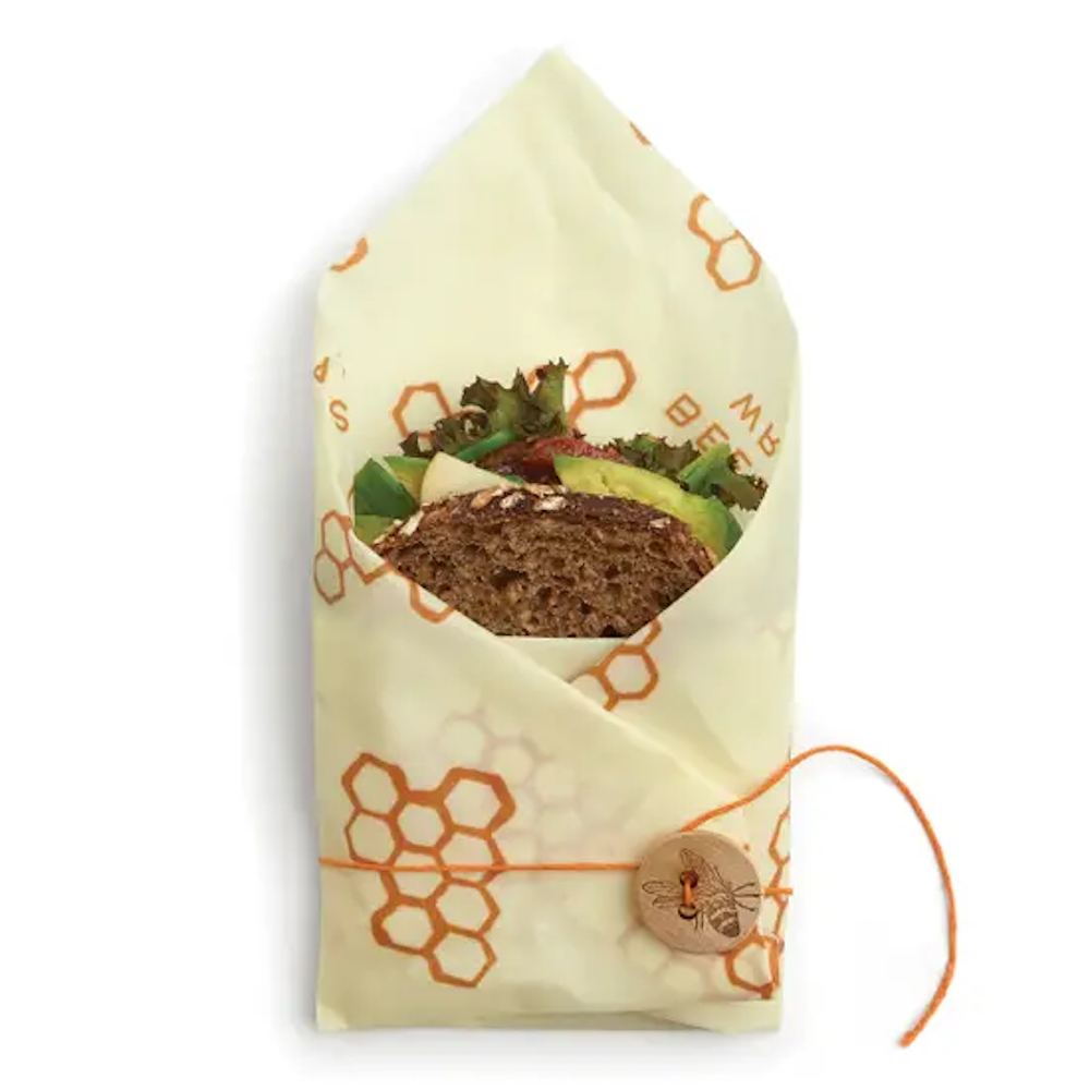 Sandwich Wrap: Honeycomb Print