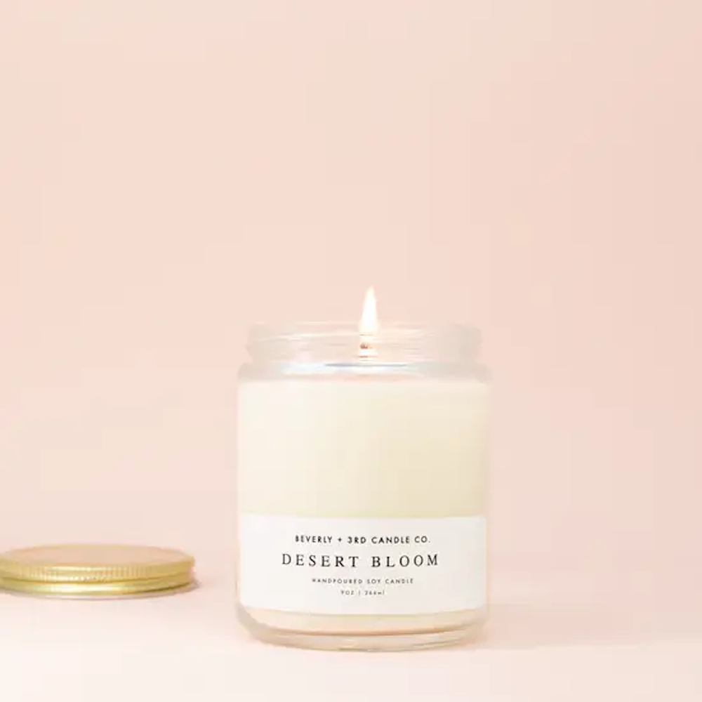 Desert Bloom - 9 Oz Soy Candle