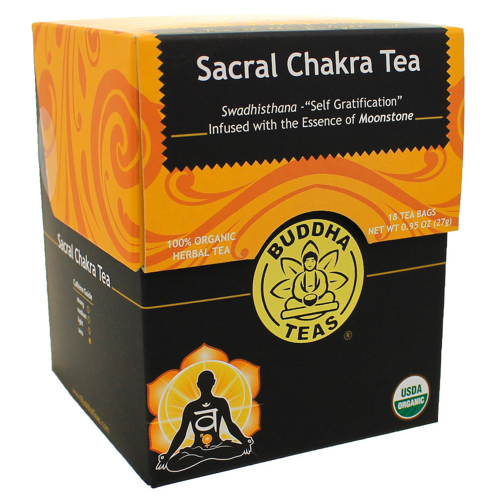 Organic Sacral Chakra Herbal Tea