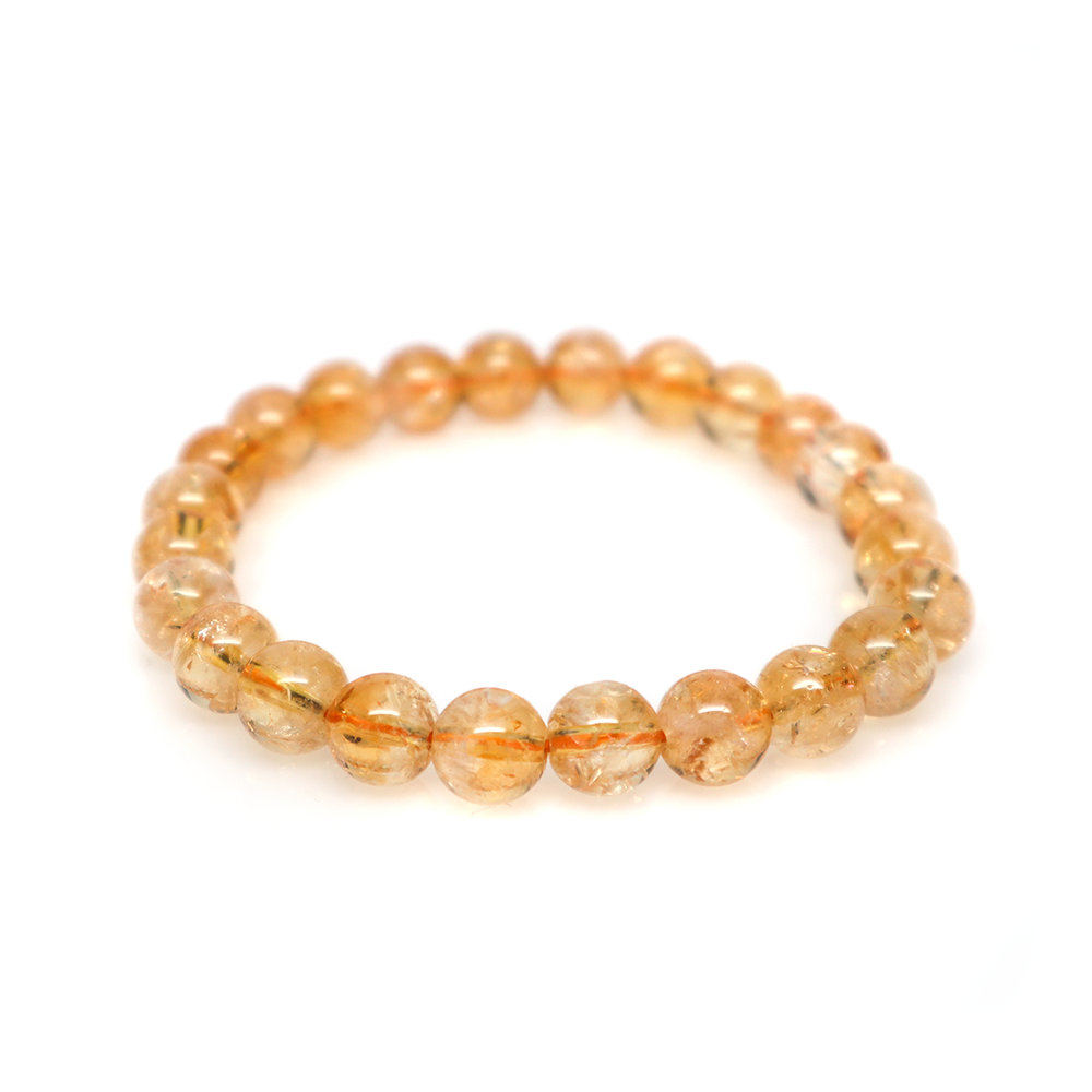 Citrine - 8mm Meditation Bracelet