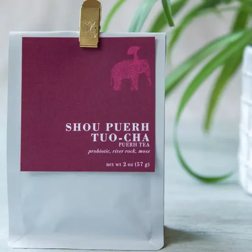 Shou Puerh Tuo-Shou Loose Leaf Tea - 2oz Bag