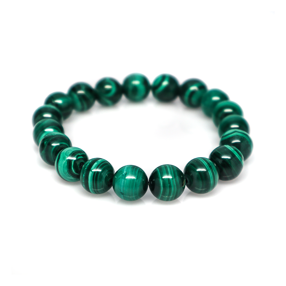 Malachite - Meditation Bracelet (9-10 mm)