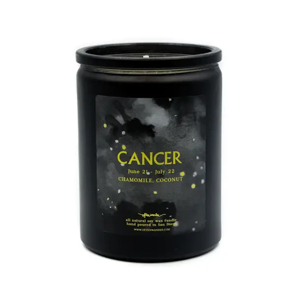 Noir Astrological Candle - Cancer