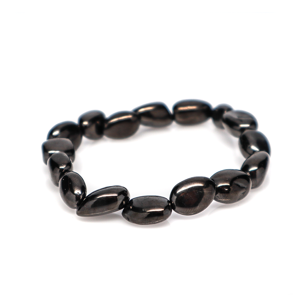 Petrovsky Shungite - Tumbled Bracelet (7-10mm)