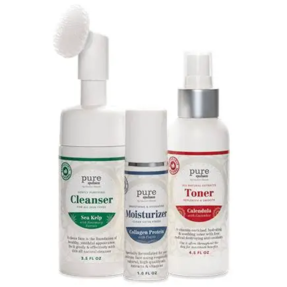 Pure Opulence: Natural Facial Care System