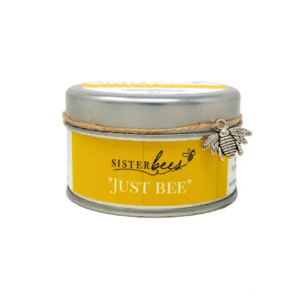 Just Bee: Unscented - 6 Oz Beeswax Candle