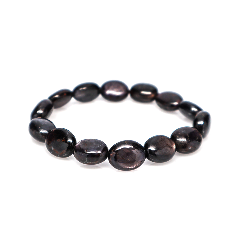 Star Ruby - Tumbled Bracelet (7 - 10mm)
