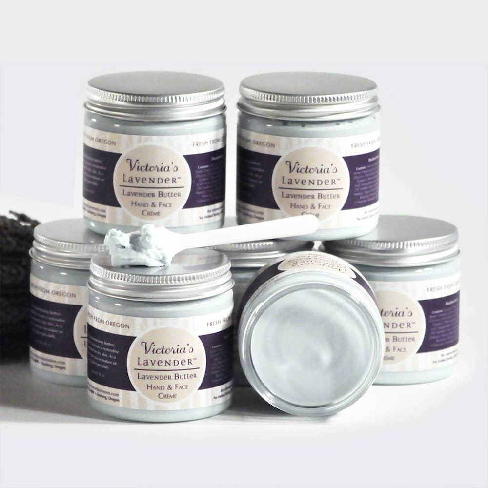 Lavender Butter: Face & Hand Cream