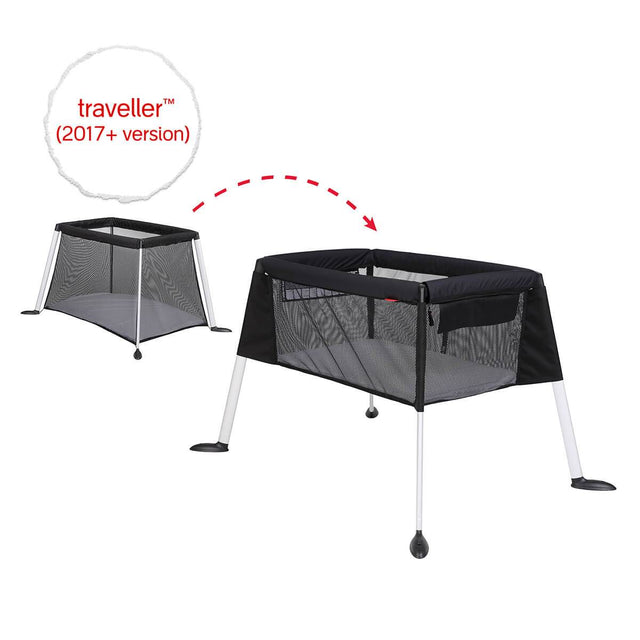 phil&teds traveller portable travel baby cot bassinet transition_default