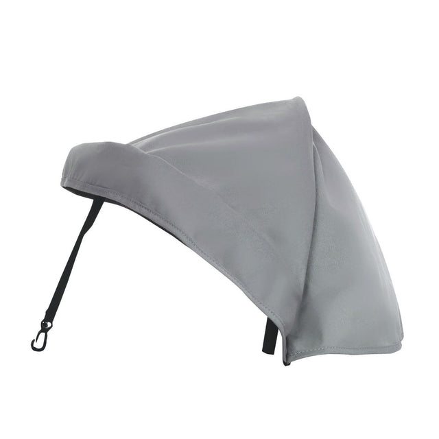 phil&teds escape and parade hood accessory side view_charcoal
