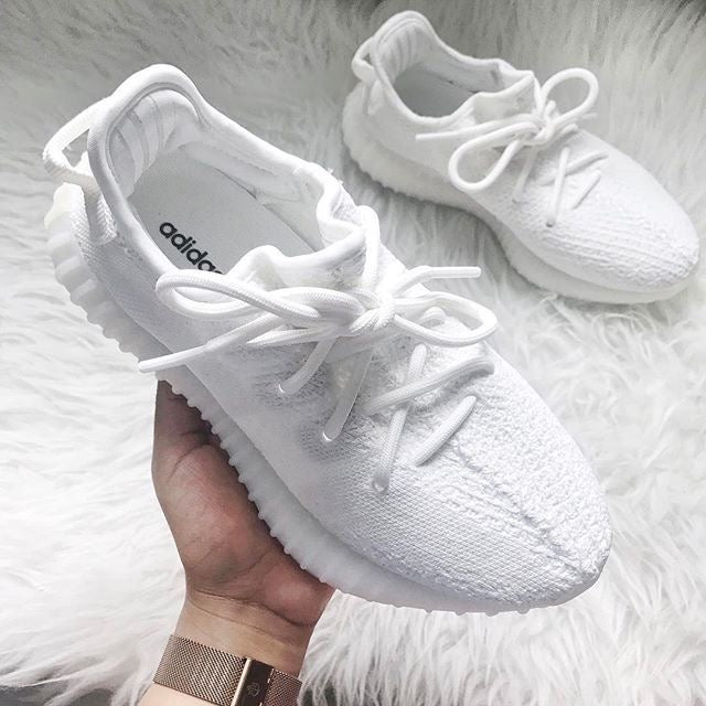 "Adidas Yeezy Boost 350 ""Triple White"""
