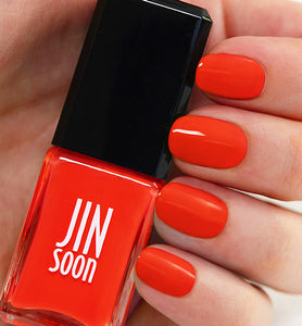 Jin Soon | 10-Free Nail Polish | Pop Orange