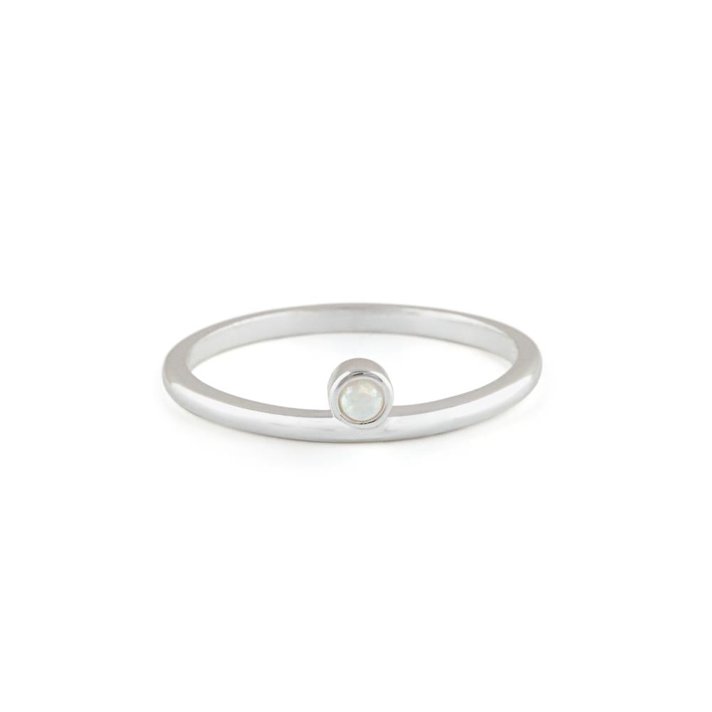 Olive | Silver Ring