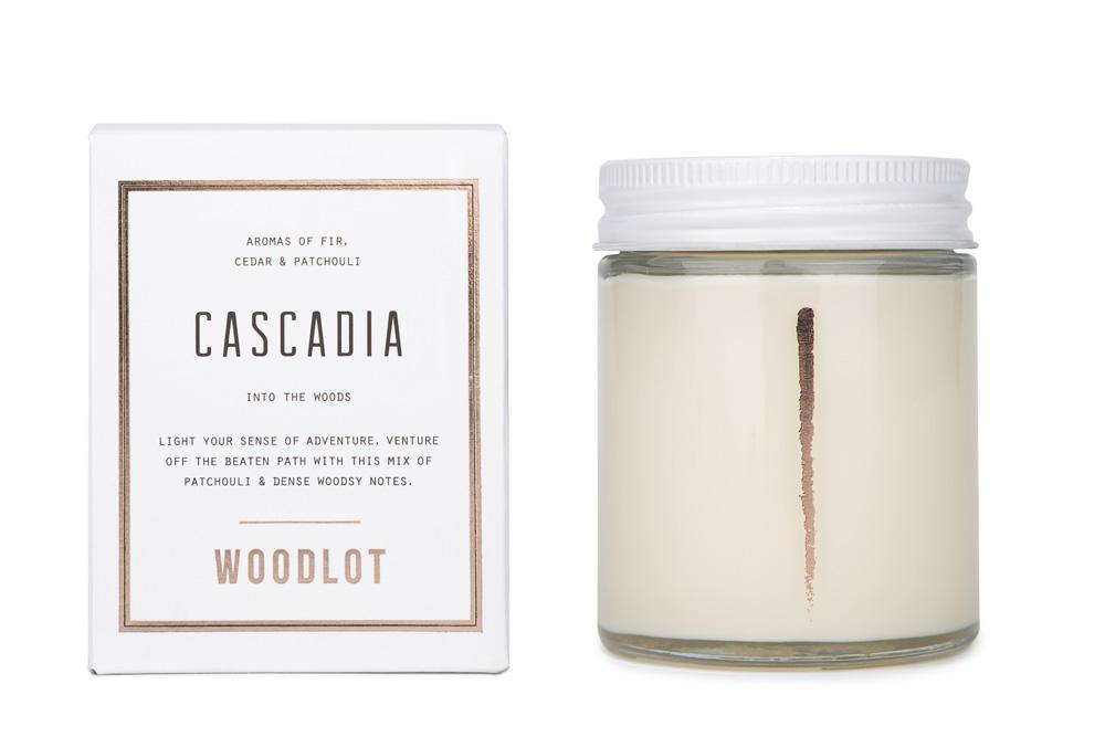 Woodlot | Clean Burning Candle | Cascadia