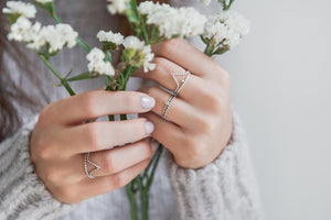 Rings - Peak • wellDunn jewelry — Handmade in Montreal