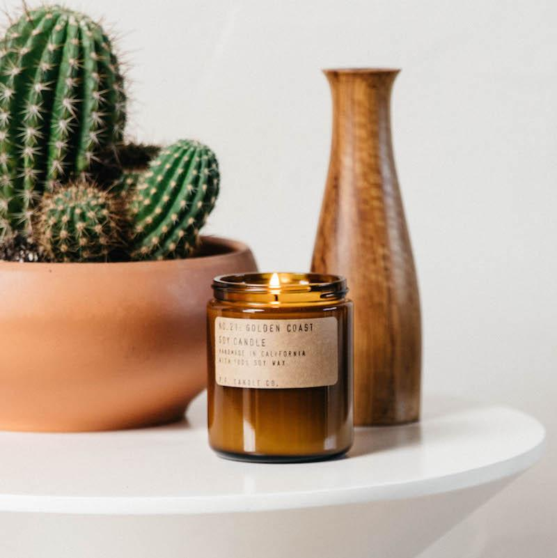 P.F. Candle | Golden Coast | 12.5oz Large Candle