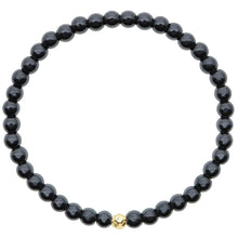 Load image into Gallery viewer, Dainty Clarity Bracelet | Hematite | 14K Gold Filled